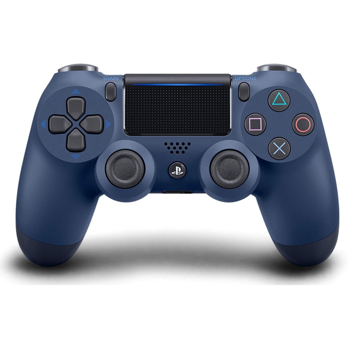 소니 PS4 듀얼쇼크4 무선컨트롤러 미드나잇블루, 1개, 단일모델