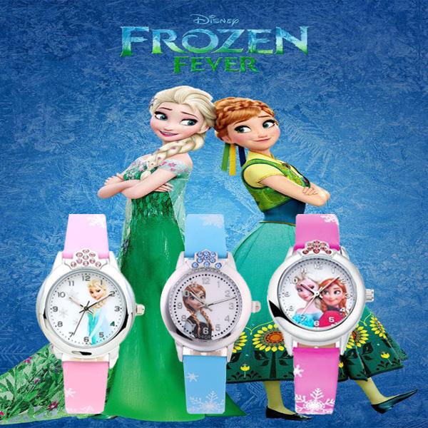 슈럭스 [당일출고] 유아동 엘사시계 안나시계 선물용 생일선물 추천 답례품 4color