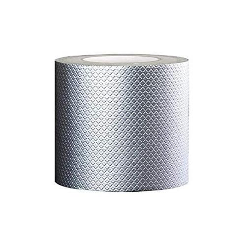 TMOX 간단접착 DIY 비가 샘 누수 균열 금이 가 보수 강력 점착 쁘띠 루고무 방수테이프 5cm×5m실버, 사이즈 = 20cm×5m   색 = 실버
