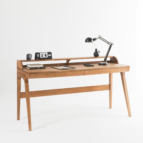 [belloci forcasamiashop] 오브B)원목책상160cm, 단일상품