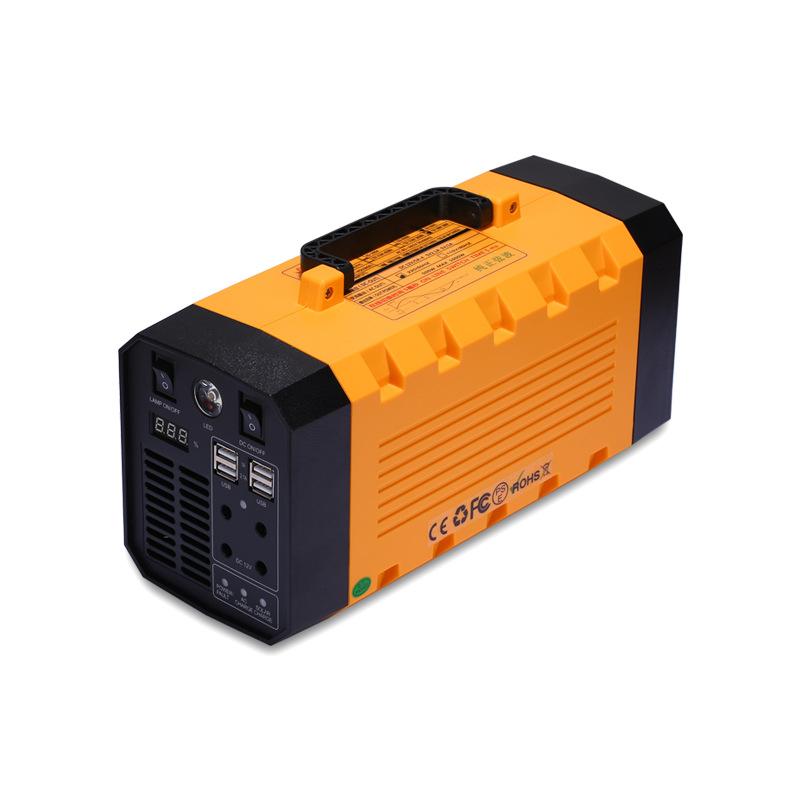 [해외직구] 220v 대용량 보조배터리 500w 파워뱅크 UPS 캠핑 12.2만 9.3만 7.7만mAh 순수정현파, CN-500C +차량시거잭용 충전기