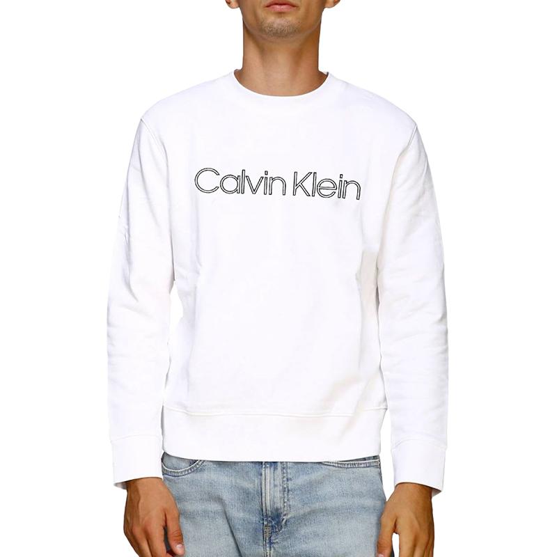 캘빈클라인 남녀공용 플리스기모 맨투맨 (CK053AC-0AW)