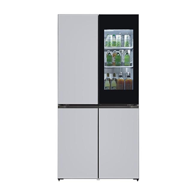 LG전자 M870GSS451S 오브제컬렉션 냉장고 1등급 글라스 (POP 4577194839)