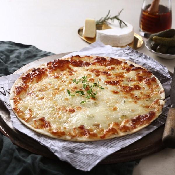 푸딩팩토리 씬크러스트 8인치 피자, 고르곤졸라 190g