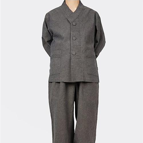 단아한의 남성 남자 봄 가을 생활한복 계량한복 퓨전한복 법복 저고리+바지 만춘세트
