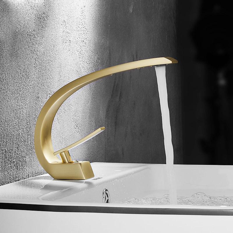 [WINZ] 고급스러운 인테리어수전 골드수전 욕실인테리어 6종, 1개