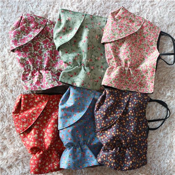 다퍼마켓 [자체제작]2중 패션 꽃마스크 꽃무늬마스크 (봄신상) 천마스크 면마스크 일반마스크 마스크대형