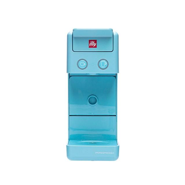 일리 커피머신 Y3.3 (블루 레드 화이트), 블루