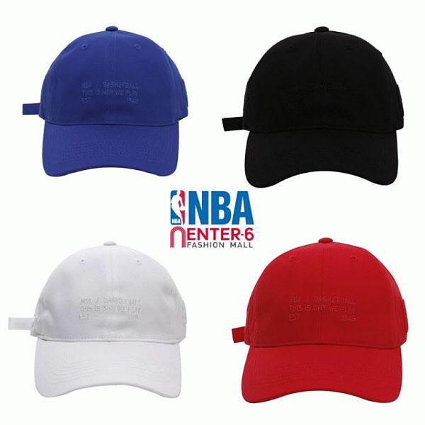 NBA 엔비에이 NBA 남녀공용 타이핑자수볼캡 N195AP040P