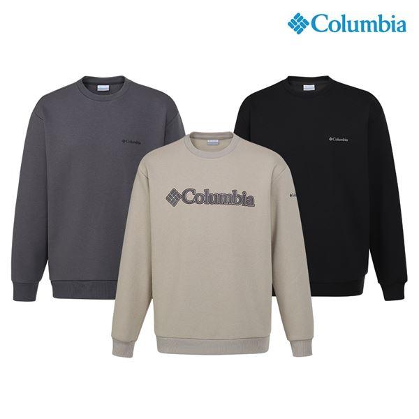 컬럼비아 웜업 맨투맨 라운드 티셔츠 C13 YMD601