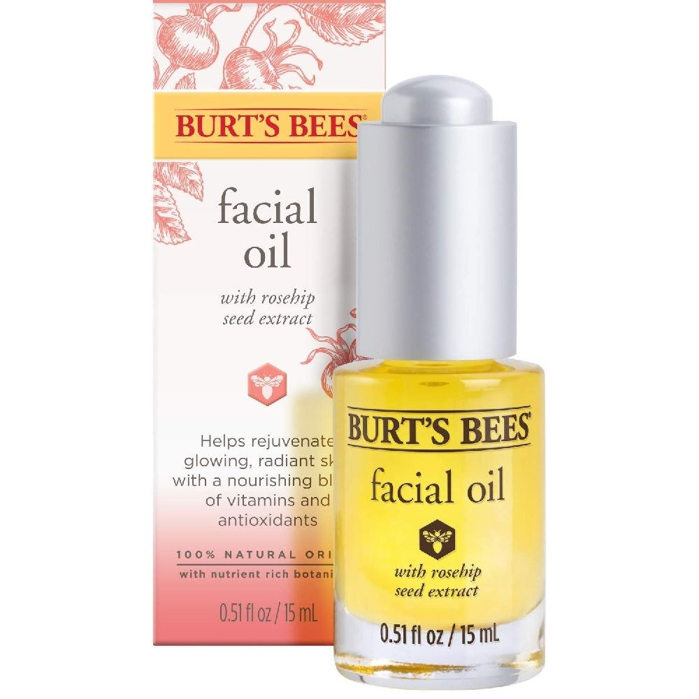 Burts Bees 버츠비 로즈힙 시드 추출물 페이셜 오일 15ml, 1개, 1g