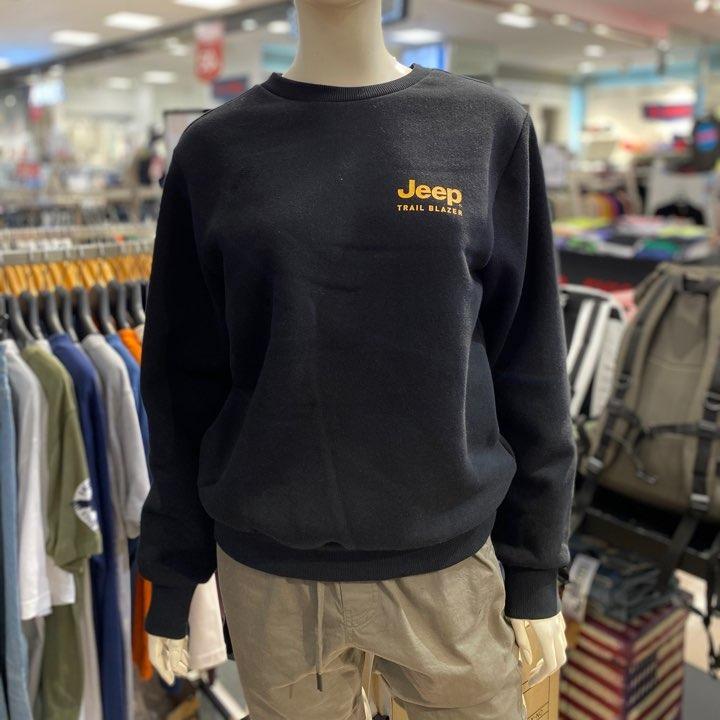지프 [NC해운대 JEEP]JEEP슬로건 맨투맨 티셔츠
