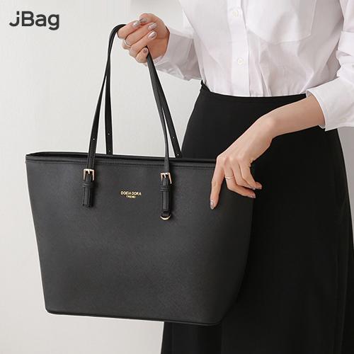 JBAG 숄더백 쇼퍼백 토트백 핸드백 가죽 큰 여성가방 (마스크 스트랩)