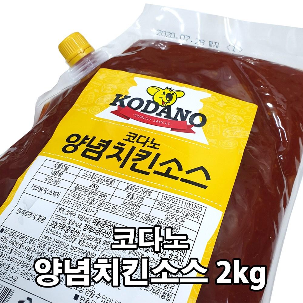 코다노 양념치킨소스 2kg, 1개