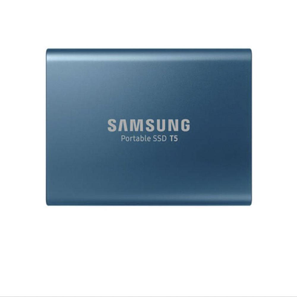 삼성전자 포터블 솔리드 스테이트 드라이브 T5 외장SSD, Blue, 500GB (POP 322677548)