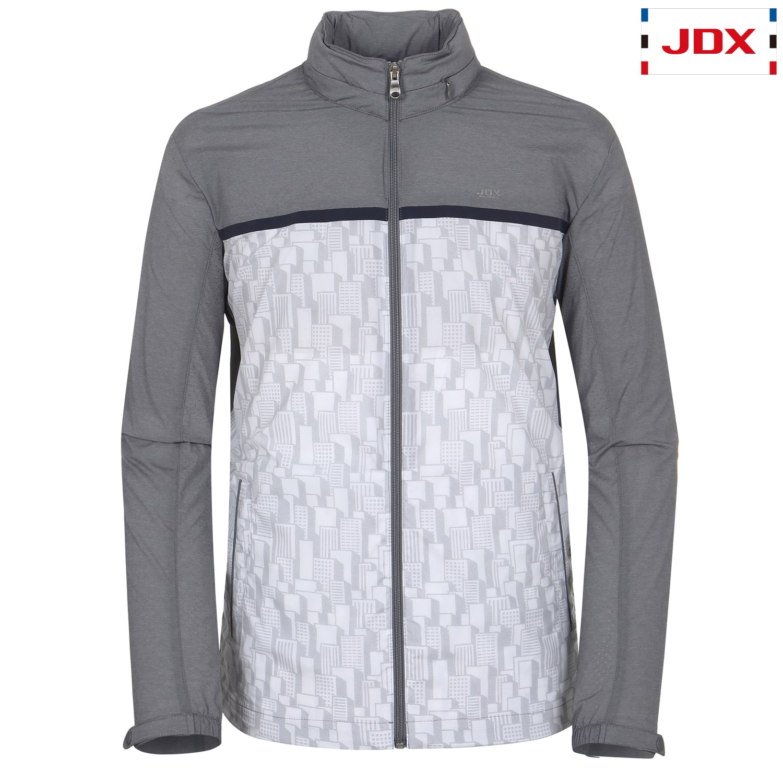 [JDX] 남성 후드형 패턴 점퍼(X2PMWJM31MG), MG