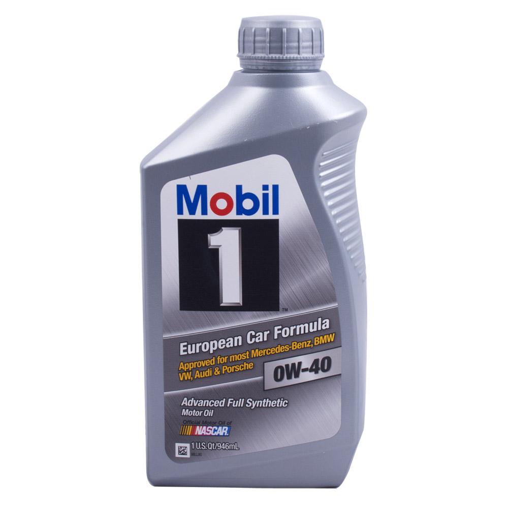 모빌원 0W40 실버 946ml/가솔린/LPG/100%합성엔진오일/VW/BENZ