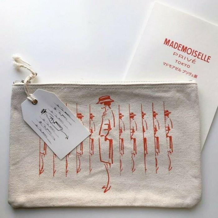 [해외]명품파우치가방 CHANEL Mademoiselle Prive Exhibition Novelty Pouch Pamphlet Set limited