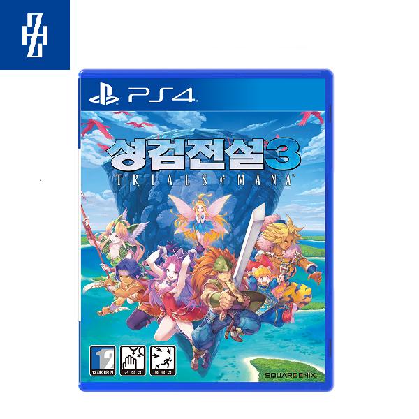 PS4 성검전설3 트라이얼즈 오브 마나 한글 초회판