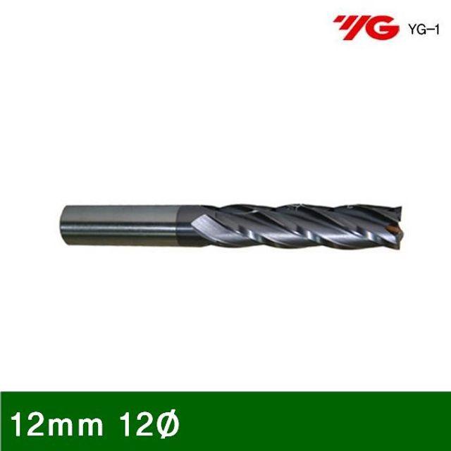 ksw29806 4F Ticn코팅롱엔드밀 12mm 12파이 55 (1EA)