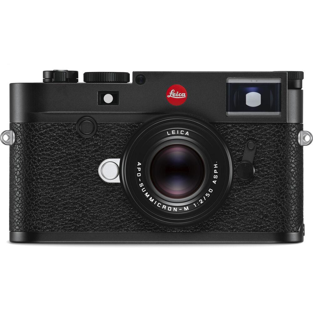 Leica M10-R Digital Rangefinder Camera (Black Chrome)104157