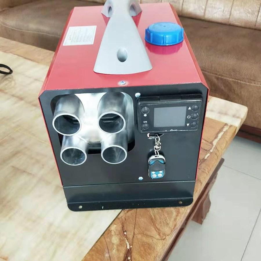 휴대용 차량용 이동식 캠핑무시동히터 동계캠핑난로 차박난방 온풍기, 12V