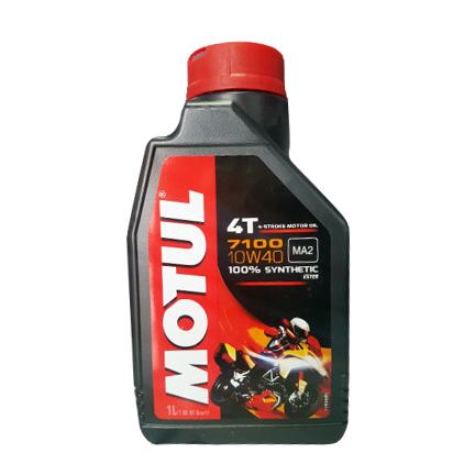 [정품] MOTUL 모튤 7100 10W40 100% 합성유 오토바이 스쿠터 엔진오일, 모튤7100 10W40