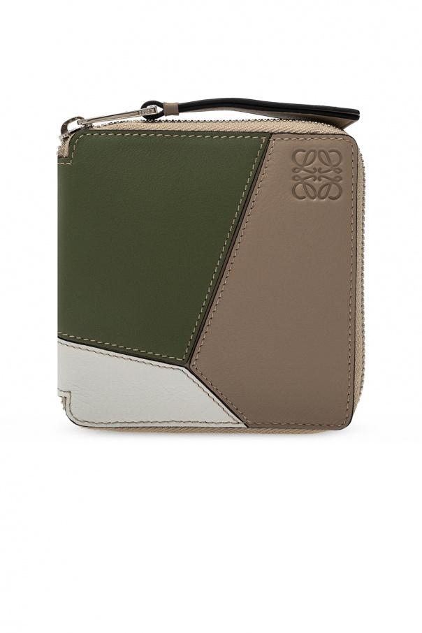 로에베 지갑 로고 - MULTICOLOUR - UNI C510M88X04 0-SAND AVOCADO GREEN 150불 이상 주문시 부가세 별도