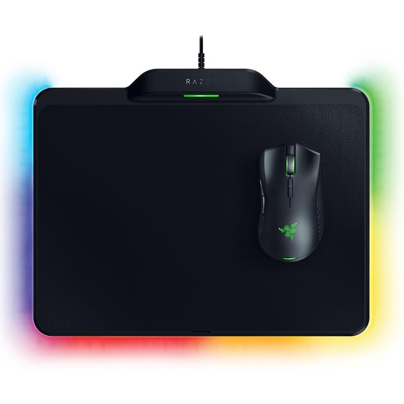 Razer Mamba HyperFlux 무선 게이밍 마우스 + 마우스패드 인체공학 RGB 블랙 16000DPI 유선