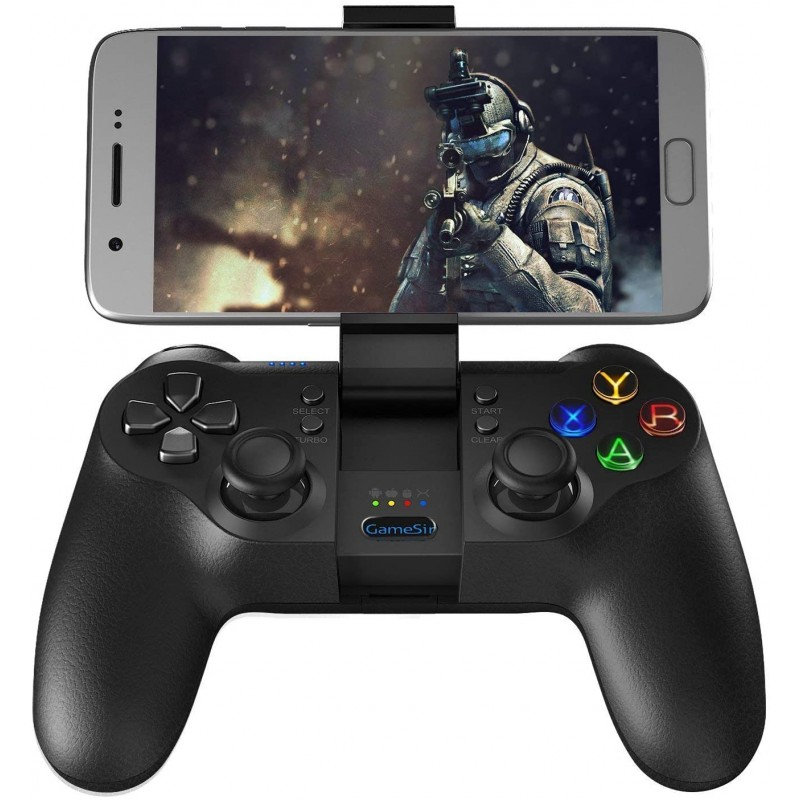 GameSir T1s 게임 컨트롤러 2.4G 무선 게임 패드 Android 스마트 폰 태블릿 / PC Windows / Steam / Sams, 1, 단일상품