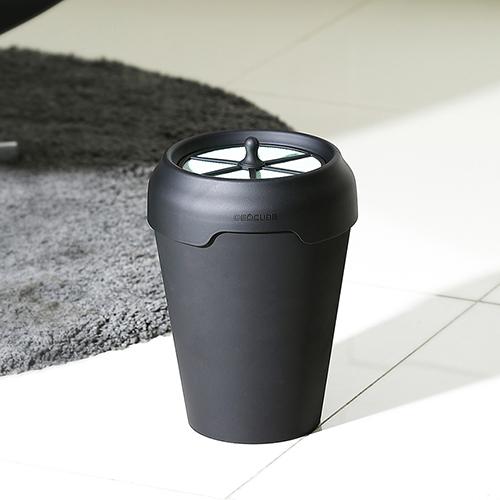 Product Image of the 데오큐브캣 고양이 분변처리통, 세트1개+추가뚜껑1개 (Matte Black)
