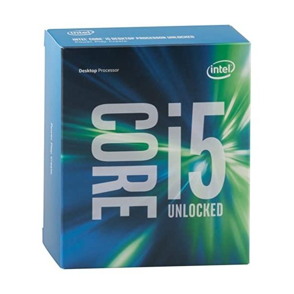 [미국] Intel BX80662I56600K Core i5 6600K 3.50 GHz Quad Core Skylake Desktop Processor Socket LGA 115, Processor Only / one size