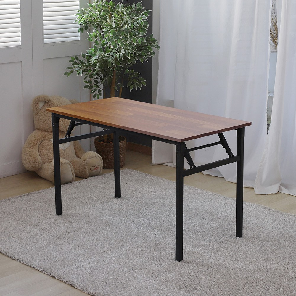 리코베로 르노 다용도 접이식 식탁 테이블 폴딩 책상 1200 6가지 컬러 식탁테이블, 멀바우