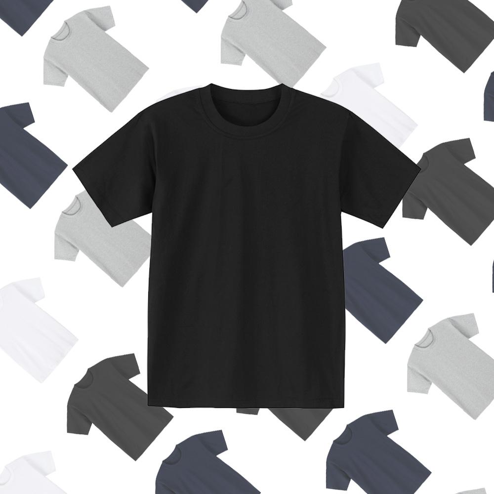 남녀공용 무지 30수 순면 라운드 반팔 티셔츠_TAE NLC