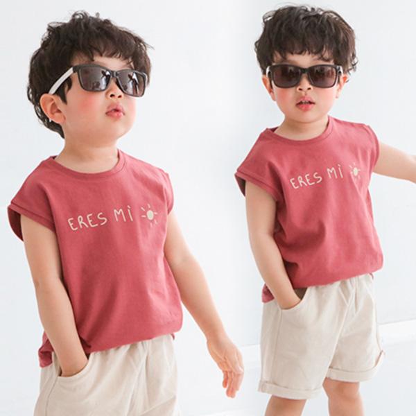 [아동복] 엘레스미린넨 나시세트아동복세트유아복세트여름상하복어린이상하세트반바지반팔