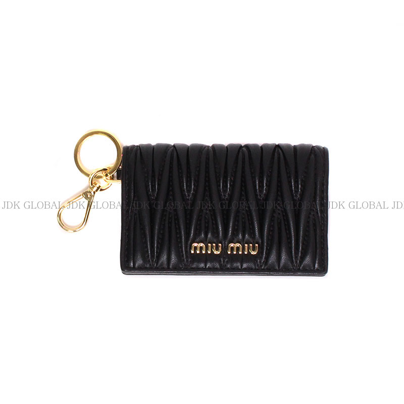 MIUMIU 미우미우 키링 카드지갑 5MC407