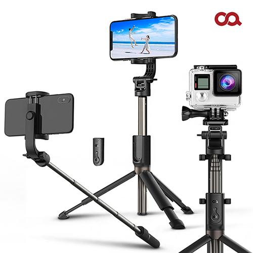 오아 셀카프로 4세대 블루투스 스마트폰 셀카봉 삼각대 OA-SS900, 블랙 S0127