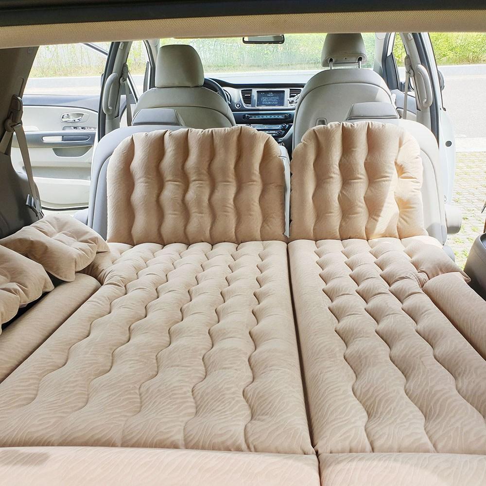 올부에노 차량용 에어매트 SUV 차박 매트, 03. 차량용 에어매트_ 블랙