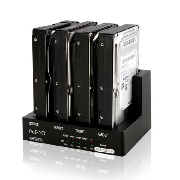 1:3 HDD 클론 4Bay 도킹스테이션, SRSR상품선택SRSR