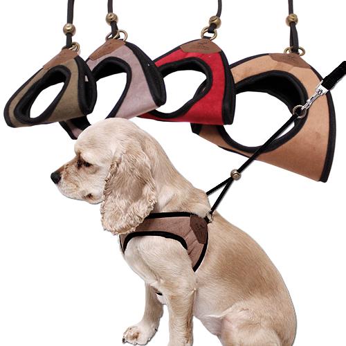 심플리 베이직 강아지허리보호대 강아지등줄 산책보조, 카키