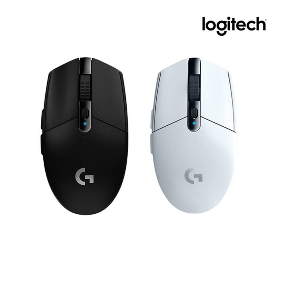 로지텍 G304 무선 게이밍 마우스, 블랙