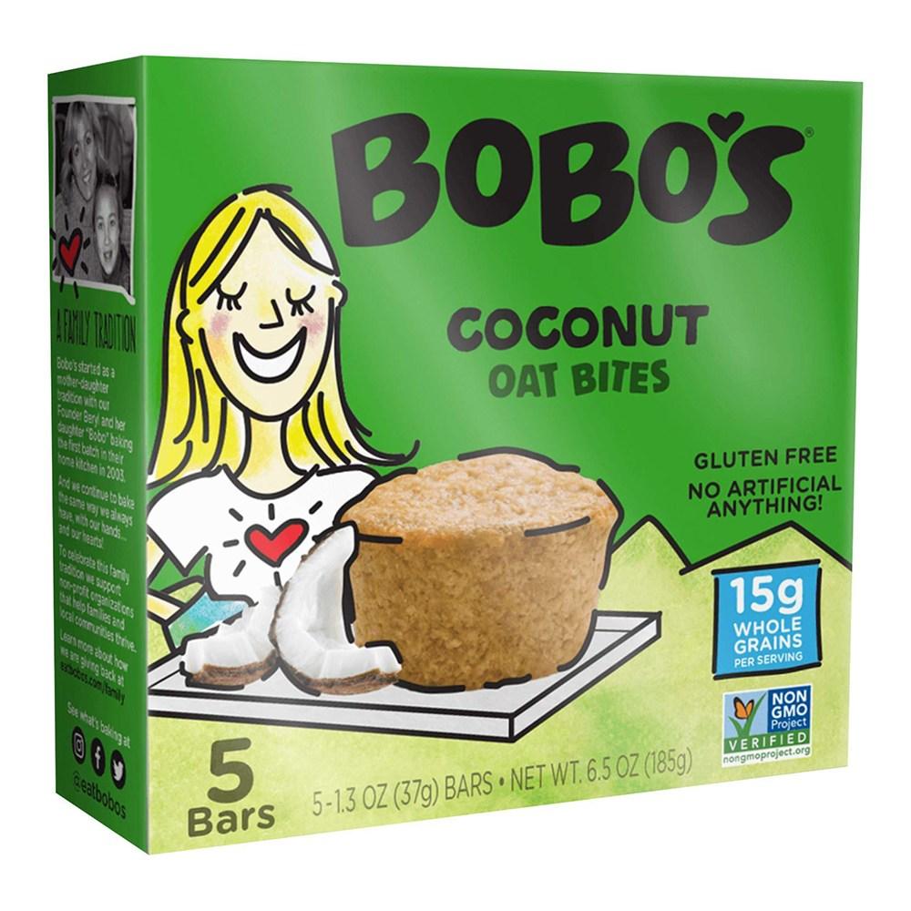보보스 코코넛 오트 바이트 37g 5개