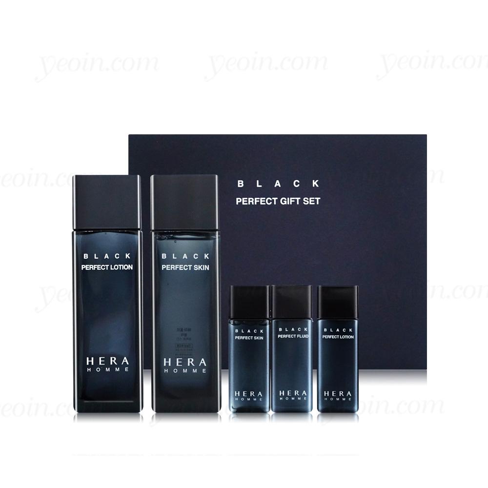 헤라 옴므 블랙 2종 세트(스킨X로션)샘플내장NEW, 단일상품
