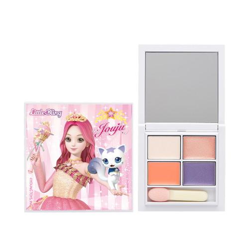 리틀블링 어린이화장품 시크릿쥬쥬별의여신 아이팔레트, 단품없음