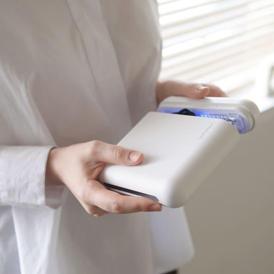 울트라웨이브 UVC LED 휴대용 마스크 살균기 보관 케이스 자외선 소독기 스마트폰 건조 살균 칫솔, 단품