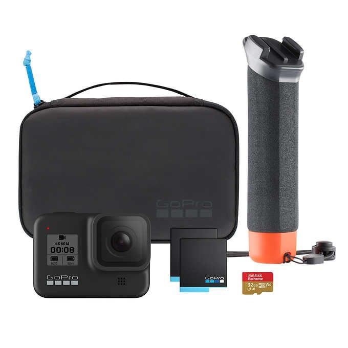 고프로 히어로8 블랙 액션 카메라 번들, GoPro Hero8 Black Bundle