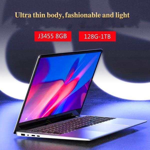 15.6 인치 게임용 8G RAM 1 테라바이트 512G 256G 128G 64G SSD ROM 노트북 Ultrabook 인텔 쿼드 코어 Wind, 한개옵션2, 01 J3455-8G 128G SSD, 01 CHINA