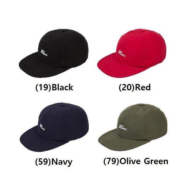 [뉴발란스(잡화)] [뉴발란스] 국내 매장제품 뉴발란스 모자 패널 레터캡 / NBGD9S0, 색상:NBGD9S0104-20 (레드)