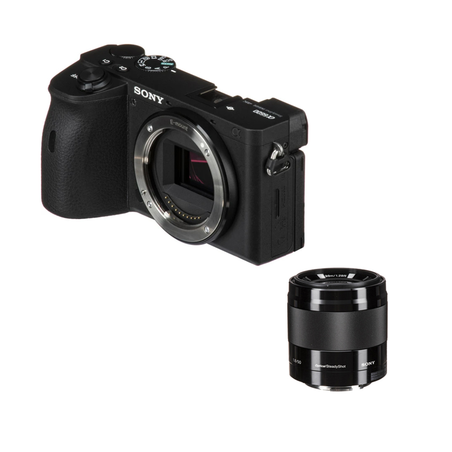 소니 A6600 미러리스카메라, 05.소니 정품 미러리스 카메라 A6600+E 50mm F1.8 / 도우리