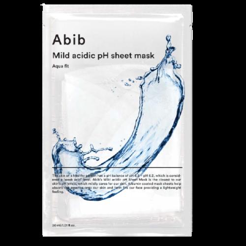 [ABIB] 아비브 껌딱지 마스크 어성초 팩 약산성 어성초 밀크 아쿠아 핏 시트 마스크 (10EA), 약산성 아쿠아핏 (10매)